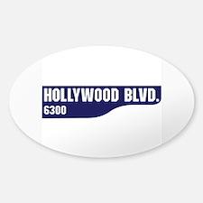 Hollywood Boulevard, Los Angeles, C Decal