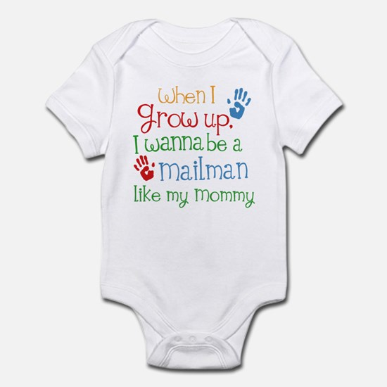 Mailman Like Mommy Infant Bodysuit