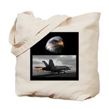 Cute F 18 Tote Bag