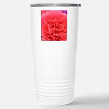 Cute Pink carnation Travel Mug