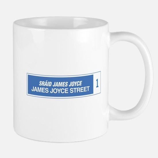 James Joyce Street, Dublin, Ireland Mug