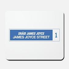 James Joyce Street, Dublin, Ireland Mousepad