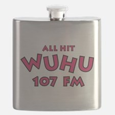 WUHU 107 FM Flask