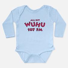 WUHU 107 FM Long Sleeve Infant Bodysuit