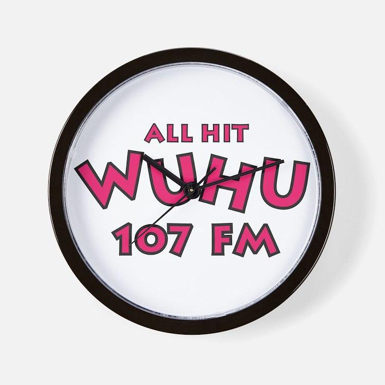 WUHU 107 FM Wall Clock