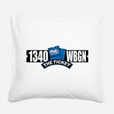 WBGN 1340 Square Canvas Pillow
