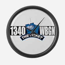 WBGN 1340 Large Wall Clock