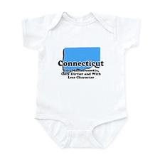 Connecticut Just Like Mass Infant Bodysuit