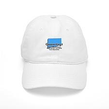 Connecticut Just Like Mass Baseball Cap