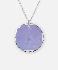 Cute Deathly hallows Necklace