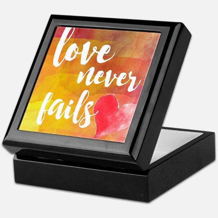 Cute Inspirational quotes never doubt Keepsake Box