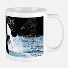Leaping Killer Whales Mugs