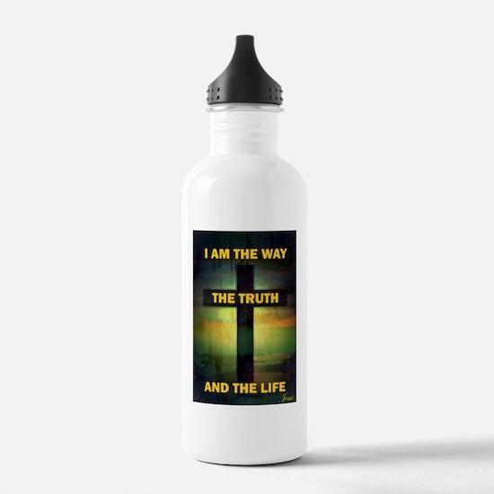 Unique Faith quote Water Bottle