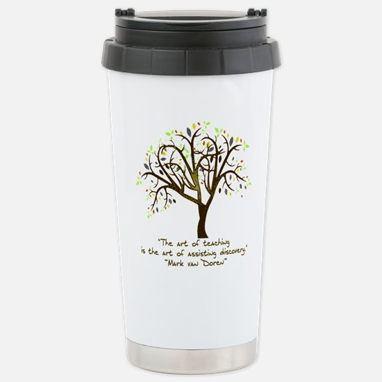 The Art Of Teaching Stainless Steel Travel Mug