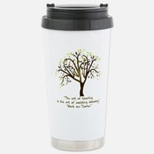 The Art Of Teaching Travel Mug