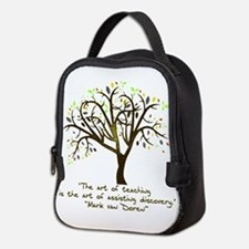 The Art Of Teaching Neoprene Lunch Bag