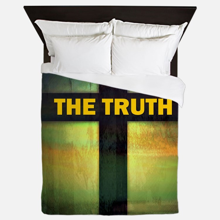 I am the way, the truth and the life Queen Duvet