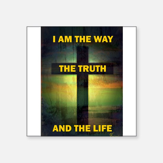 I am the way, the truth and the life Sticker