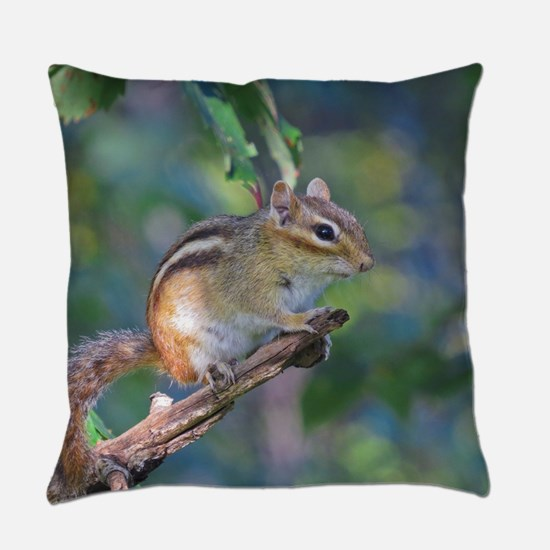 Cute Chipmunk Everyday Pillow