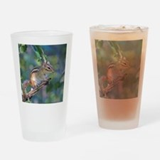 Unique Chipmunk Drinking Glass