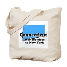 Connecticut, New York Tote Bag