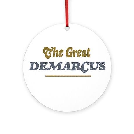 Demarcus Ornament (Round)