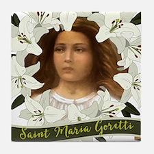 St. Maria Goretti Tile Coaster