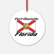 Port Charlotte Florida Ornament (Round)