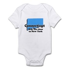 Connecticut, New York Infant Bodysuit