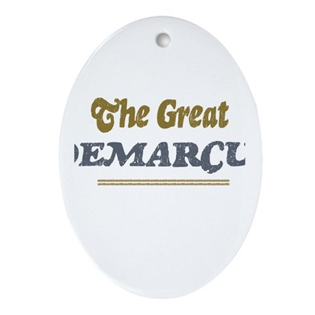 Demarcus Oval Ornament