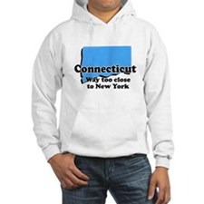 Connecticut, New York Hoodie