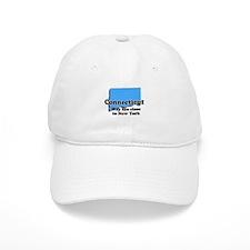 Connecticut, New York Baseball Cap