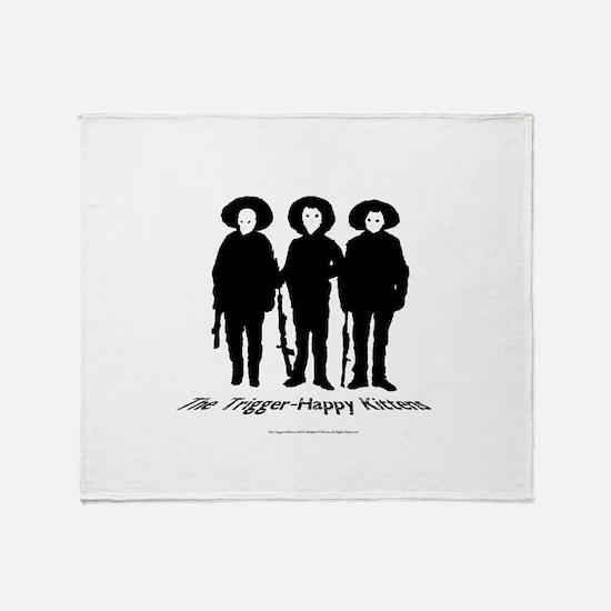THK B/W Logo Throw Blanket