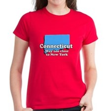 Connecticut, New York Tee