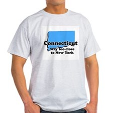 Connecticut, New York T-Shirt