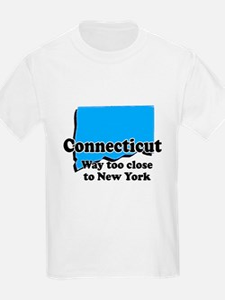Connecticut, New York T-Shirt