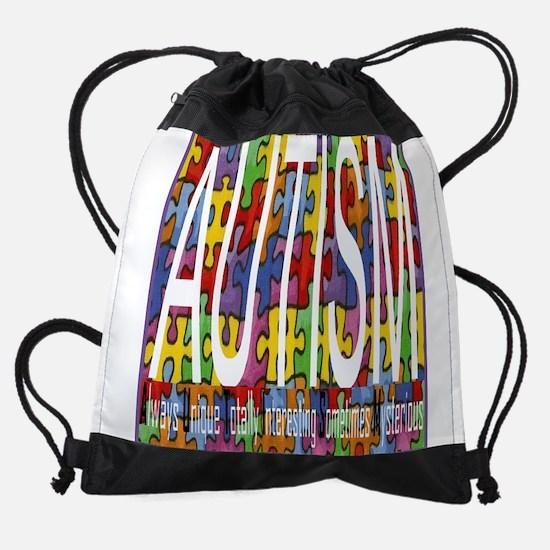 autism awareness Drawstring Bag