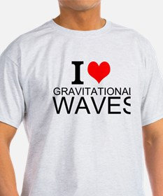 I Love Gravitational Waves T-Shirt