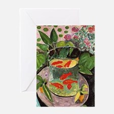 Cool Fauvism Greeting Card