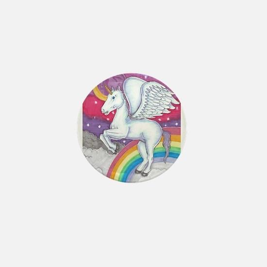 Unicorn Mini Button