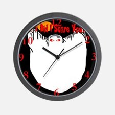 Ghost Did I Scare You? Wall Clock