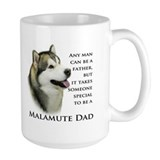 Alaskan malamute Large Mugs (15 oz)