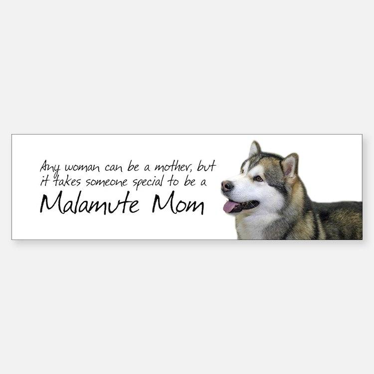 Malamute Sticker (Bumper)