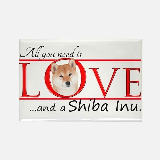 Shiba Inu Love Magnets