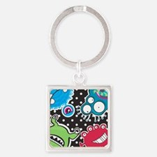 Cute Monsters Keychains