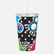 Cute Monsters Acrylic Double-wall Tumbler