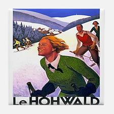 Vintage poster - Le Hohwald Tile Coaster