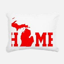 Funny Up north Rectangular Canvas Pillow