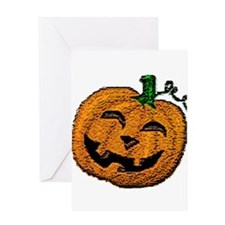 Happy Jack O'lantern Greeting Card
