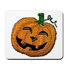 Happy Jack O'lantern Mousepad